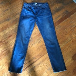 J crew high rise matchstick skinny jeans size 30